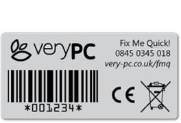 VeryPC Fix Me Quick label
