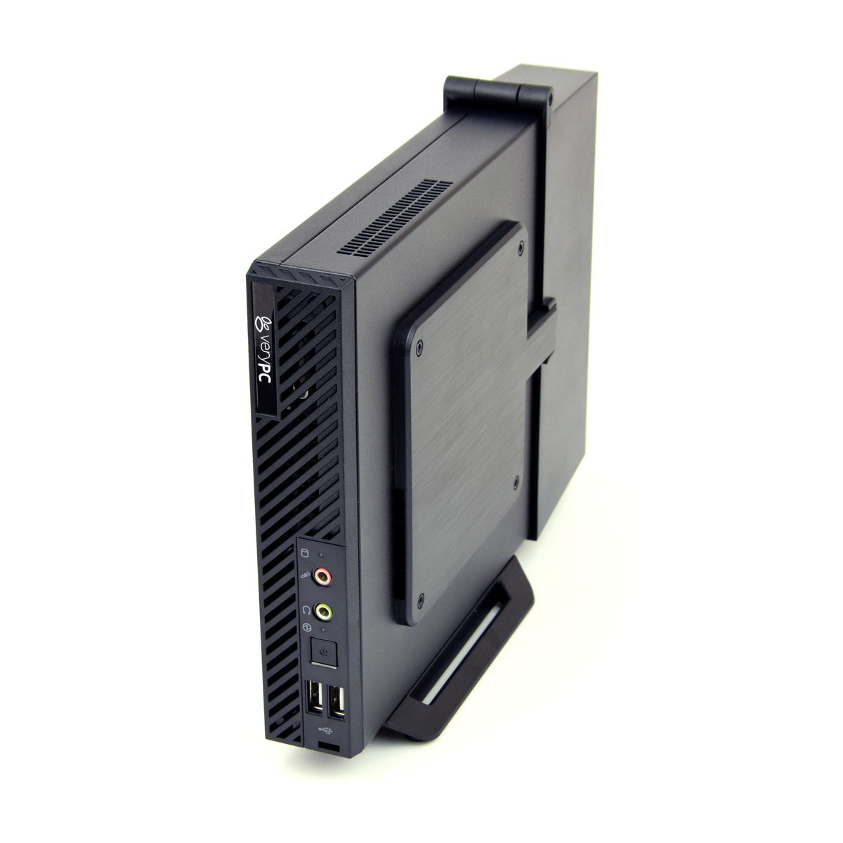 Vesa Mountable Micro Pc With Lockable Cable Shroud
