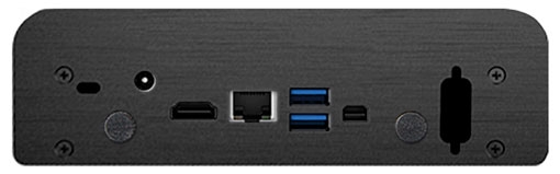 Nano Silent front and back ports