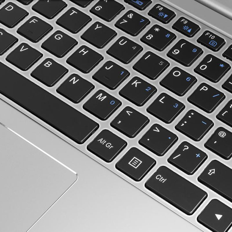 Ultrabook S backlit keyboard close up