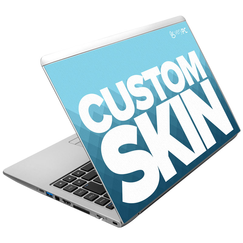 Ultrabook with custom skin