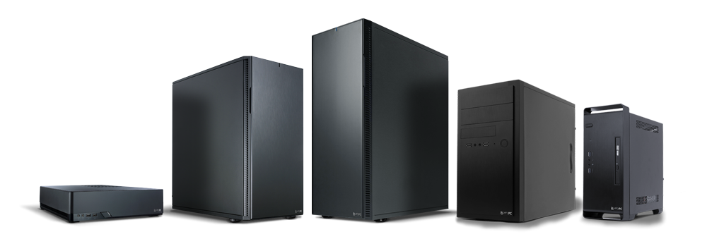 Workstation chassis range