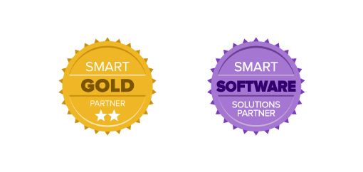 SMART Gold Software Solutions Partner. SMART Collaborate Naturally